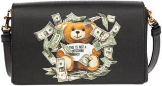Moschino Dollar Teddy Bear Shoulder Bag