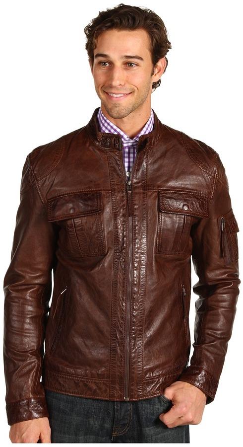 7 Diamonds Konick Jacket (Brown) - Apparel