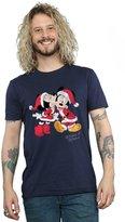 Disney Men's Christmas Kiss T-Shirt