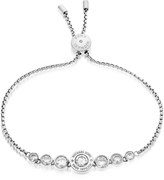 Michael Kors Brilliance Stainless Steel and Crystals Bracelet