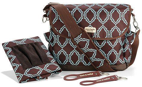 Timi & Leslie Messenger Diaper Bag - Sahara