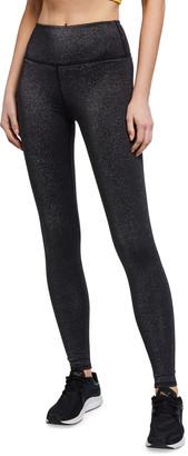 Alo Yoga High-Waist Glitter Leggings