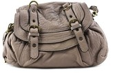 Abaco Dan Leather Shoulder Bag.