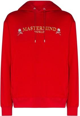Mastermind Japan Skull Logo-Print Hoodie