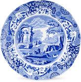 Spode S/4 Italian Luncheon Plates, Blue/White