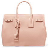 Saint Laurent Sac De Jour Small Textured-leather Tote - Blush