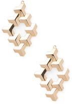 Paolo Costagli 18K Yellow Gold Earrings