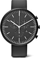 Uniform Wares - M42 Chronograph Pvd-coated Stainless Steel And Rubber Watch
