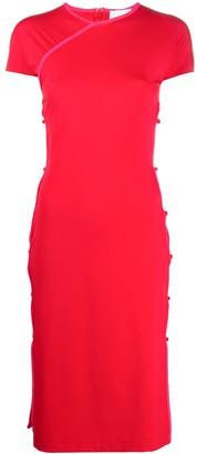 MARCIA Open-Side Midi Dress