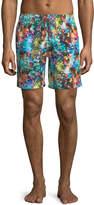 Bugatchi Sea Creature Print Swim Shorts