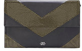 Vince Camuto Fitzi Embossed Chevron Clutch