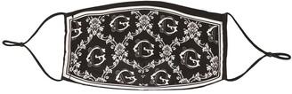 Dolce & Gabbana Monogram Print Face Mask