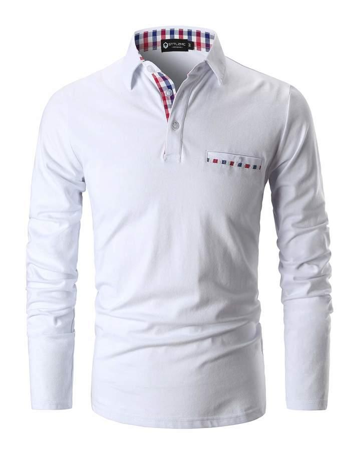 8cc04b44 White Shirt Red Collar - ShopStyle Canada