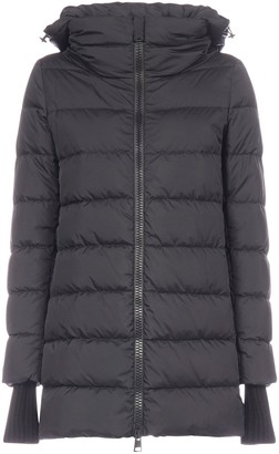 Herno Hooded Zip-Up Puffer Jacket