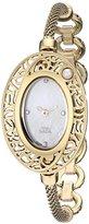 Titan Women's 9973YM02 Raga Pearl Analog Display Quartz Gold Watch