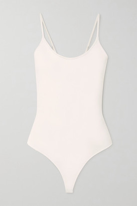 A.L.C. X Petra Flannery Mara Stretch-knit Bodysuit - White