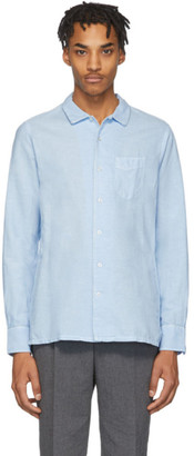 Officine Generale Blue Dyed Shirt