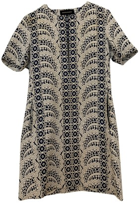 Vanessa Seward White Cotton Dress for Women