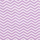 TREND LAB, LLC Trend Lab Lilac Chevron Delux Flannel Crib Sheet