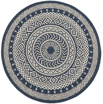 Very County Circles Indoor/Outdoor Rug