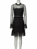 Thumbnail for your product : Three floor Mock Neck Knee-Length Dress w/ Tags Black