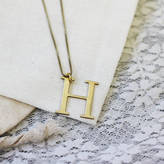 Anna Lou of London Capital Letter Necklace