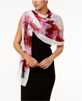 INC International Concepts Floral Heart Evening Wrap, Only at Macy's