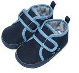 Osh Kosh Baby Boy Chambray Crib Shoes