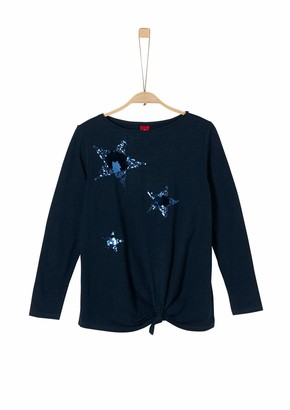 S'Oliver Girl's 66.911.31.7617 Long Sleeve Top