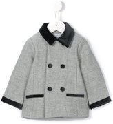 Tartine et Chocolat double breasted coat - kids - Cotton/Polyamide/Polyester/other fibers - 24 mth