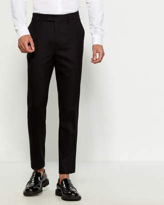 Barena Venezia Black Wool Dress Pants