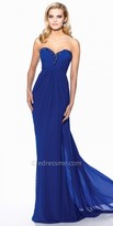 Tony Bowls Le Gala Ruched Empire Prom Gown