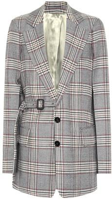 Joseph Gemina checked wool blazer