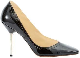 Lanvin Black Patent leather High Heel