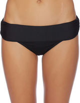 Luxe by Lisa Vogel Solid Banded Bikini Bottom