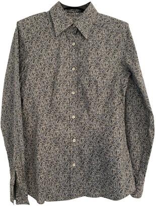 Etro Grey Cotton Top for Women