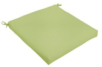 """Bronx Indoor/Outdoor Dining Chair Cushion Ivy Color: Apple Green, Size: 19"""" L x 19"""" W"""