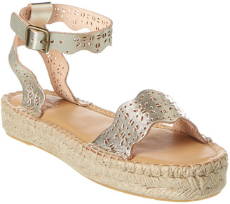 Soludos Cadiz Wave Leather Sandal