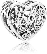 Pandora Sterling Silver Mother & Son Bond Charm 792109CZ