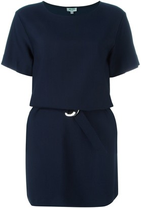 Kenzo belted T-shirt dress