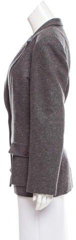 Valentino Cashmere Structured Blazer