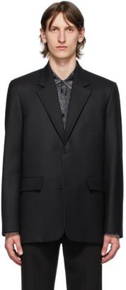 Balenciaga Black Seamless Blazer