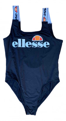 Ellesse Black Lycra Swimwear for Women