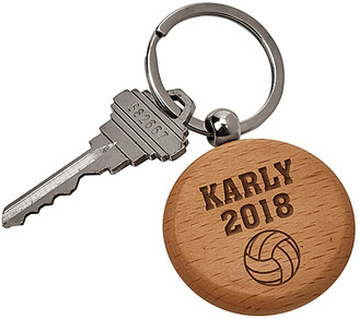 Personalized Planet Key Chains - Volleyball Personalized Key Chain