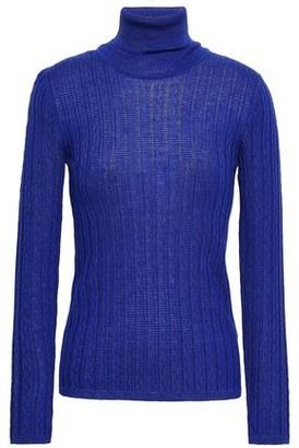 M Missoni Ribbed Wool-blend Turtleneck Top