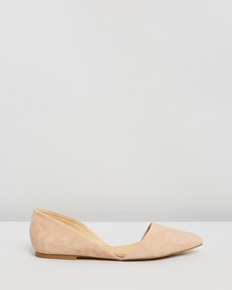 Siren Women's Nude Ballet Flats - Rake - Size One Size, 37 at The Iconic