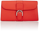 Delvaux Women's Brillant Sellier PTF Long Wallet-RED