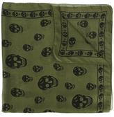 Alexander McQueen Skull scarf - men - Silk - One Size