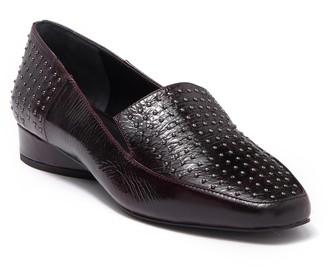 Donald J Pliner Iline Studded Leather Loafer
