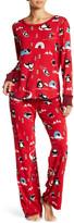 PJ Salvage Lightweight Thermal Penguin Run Pajama Pants